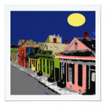 Creole Cottage New Orleans Full Moon Custom Announcements