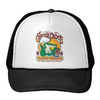 CREOLE-CROC MESH HATS