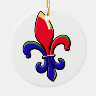 Creole Fleur de Lis Ornament