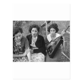 Creole Girls in Louisiana 1930s Post Cards