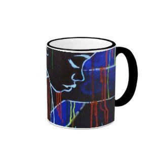 Creole Rain - Blue Ringer Mug