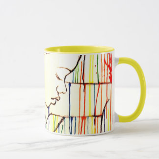 Creole Rain - White Mug