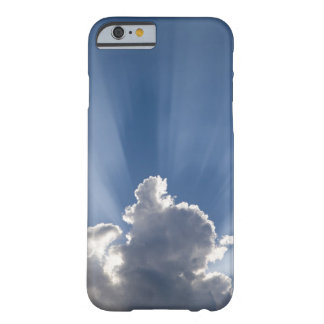 Crepuscular or God's rays streak past cloud. Barely There iPhone 6 Case