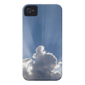 Crepuscular or God's rays streak past cloud. Case-Mate iPhone 4 Case