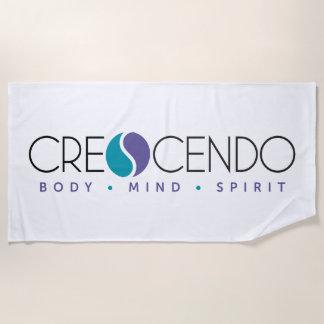 Crescendo Beach Towel