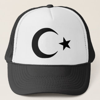 Crescent and Star Trucker Hat