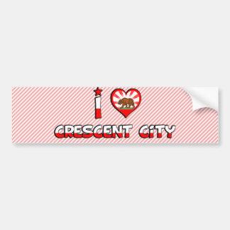 Crescent City, CA Car Bumper Sticker