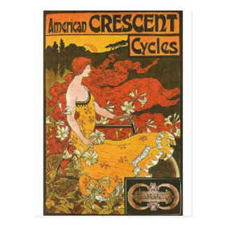 Crescent Cycles Postcards