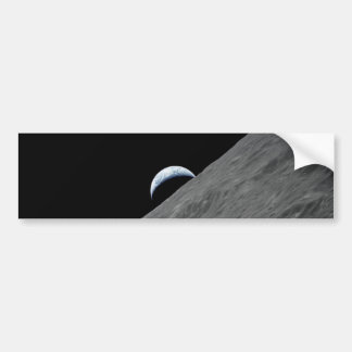 Crescent Earth Bumper Sticker