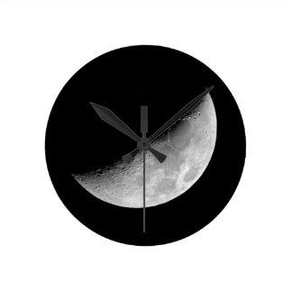 Crescent Moon Clocks