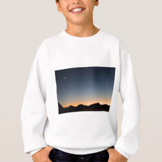 Crescent Moon over Sunset Sweatshirt