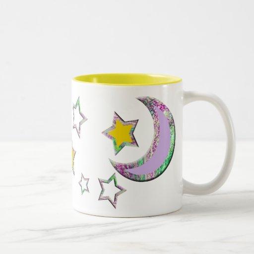 Crescent Moon & Stars #3 Mug