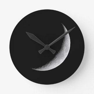 Crescent Moon Wall Clocks