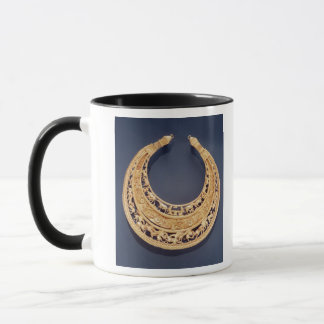 Crescent shaped pectoral from Tolstaya Mogila Mug
