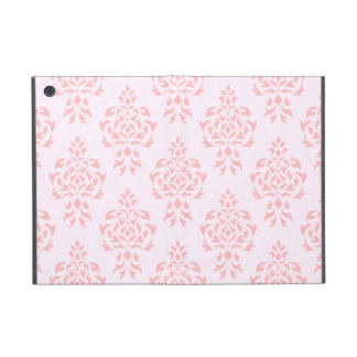 Crest Damask Repeat Pattern Pinks Case For iPad Mini