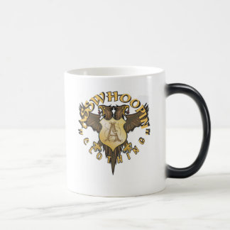 crest design glassware magic mug