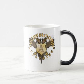 crest design glassware morphing mug