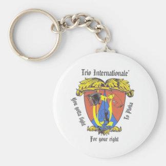 Crest Keychain