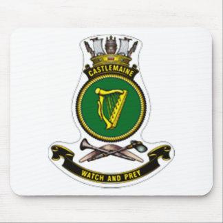 Crest of HMAS Castlemaine Mousepads