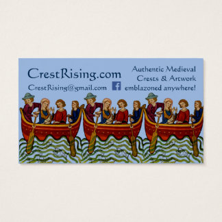 Crest Rising Business Card