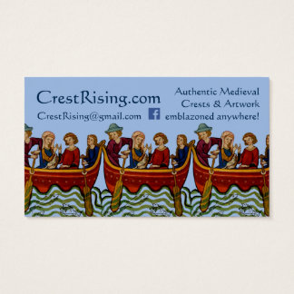 Crest Rising Business Card II