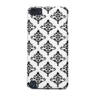 Cresta Damask Pattern (B) Black iPod Touch 5G Case