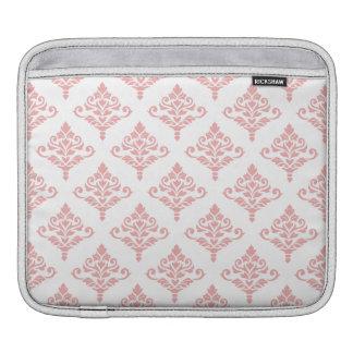 Cresta Damask Pattern (B) Pink iPad Sleeve