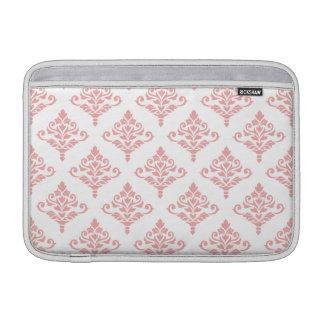 Cresta Damask Pattern (B) Pink MacBook Sleeve