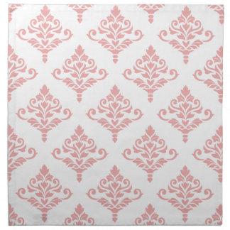 Cresta Damask Pattern (B) Pink Napkin
