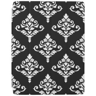Cresta Damask Pattern (B) White iPad Cover