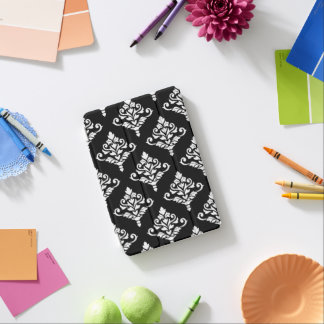 Cresta Damask Pattern (B) White iPad Mini Cover
