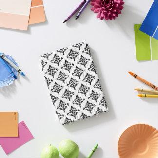 Cresta Damask Repeat Ptn (B) Black iPad Mini Cover