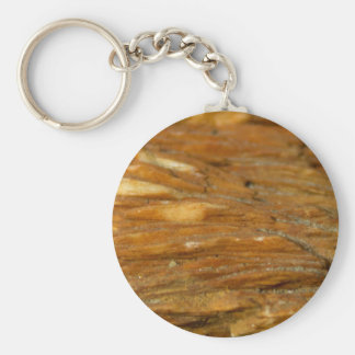 Crested Barite Photo Basic Round Button Key Ring