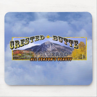 Crested Butte, CO Mouse Pad