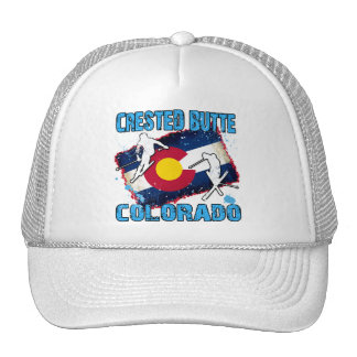 Crested Butte, Colorado Mesh Hat