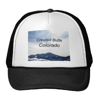 Crested Butte, Colorado Mesh Hats