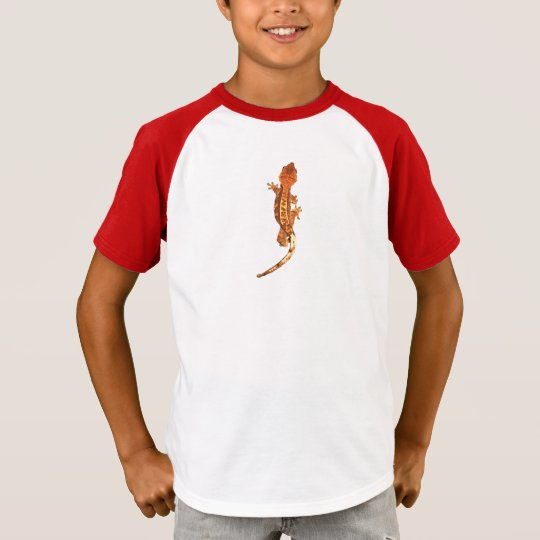Crested Gecko child's t shirt