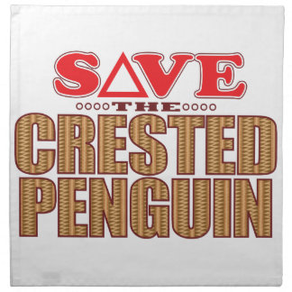 Crested Penguin Save Napkin