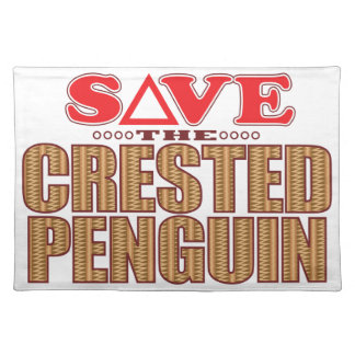 Crested Penguin Save Placemat