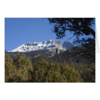 Crestone Mountain Colorado Card