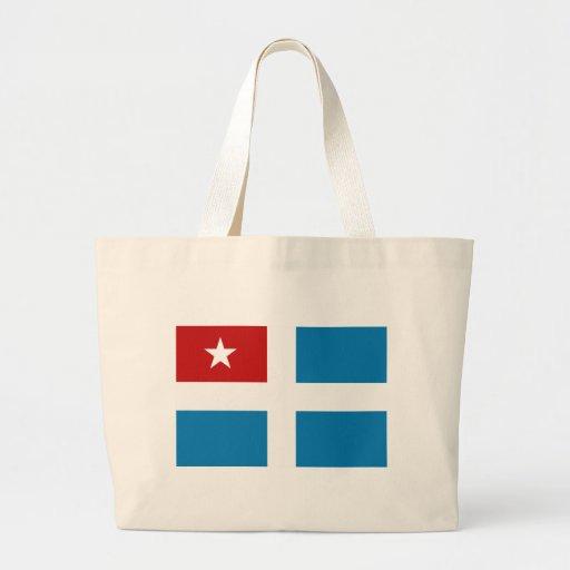 Cretan State Flag Tote Bags