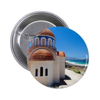 Crete 6 6 cm round badge