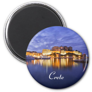 crete greece magnet