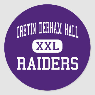 Cretin Derham Hall - Raiders - High - Saint Paul Classic Round Sticker