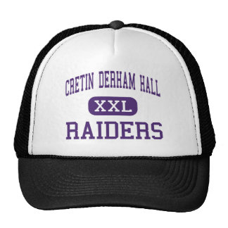 Cretin Derham Hall - Raiders - High - Saint Paul Hat