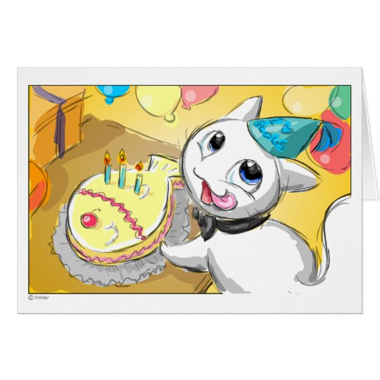 Créu Cards: Happy Birthday... Card