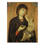 Crevole Madonna, c.1284 Postcard