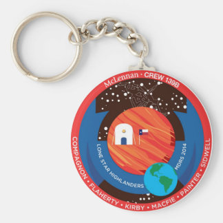 Crew 139B Swag Basic Round Button Key Ring