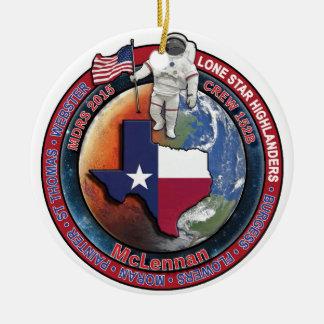 Crew 152B Swag Christmas Ornament