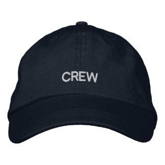 Crew Embroidered Adjustable Cap